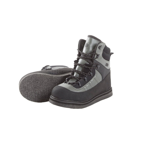 Wading Boot - Sweetwater Felt Sole, Size 8, Gray and Black - FlyRods.com. An online Fly Fishing Store with Style.