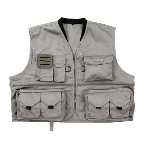 Big Thompson Fishing Vest - Medium-Large, Gray - FlyRods.com. An online Fly Fishing Store with Style.