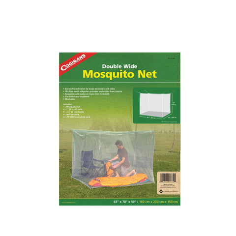 Mosquito Net - Double, White - FlyRods.com. An online Fly Fishing Store with Style.