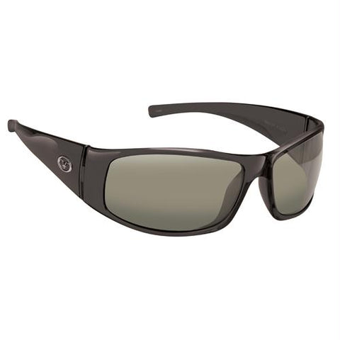 Fly Fish Magnum Sunglasses Black-Smoke