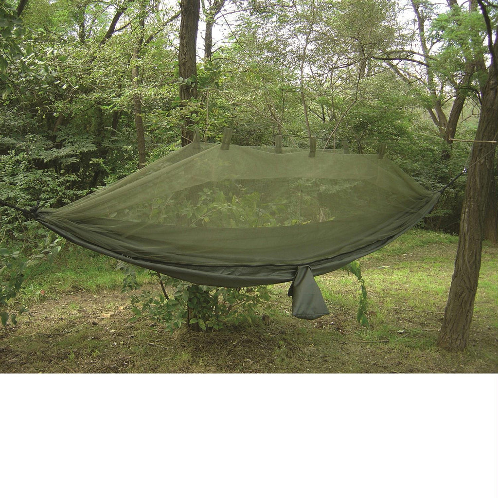 Snugpak Jungle Hammock with Mosquito Net In Olive - FlyRods.com. An online Fly Fishing Store with Style.
