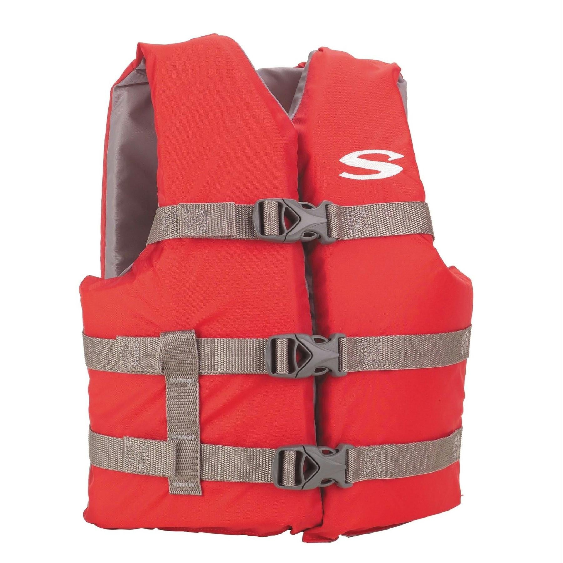 adfc08b58 Stearns Pfd 3007 Cat Boating Vest Youth Red 3000001415 - FlyRods.com. An  online