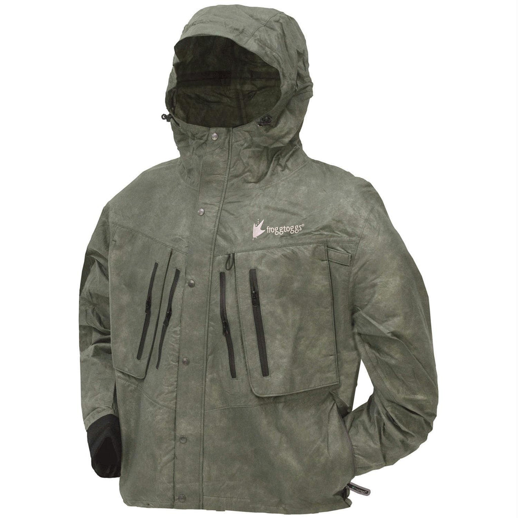 Apparel - Frogg Toggs Tekk Toad Wading Jacket - Stone