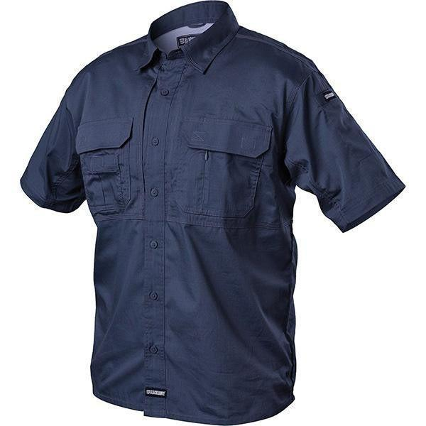 Blackhawk Tactical Pursuit Short Sleeve Shirt Navy X-Large