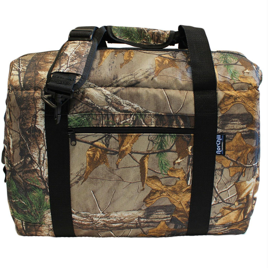 Camping & Outdoor - NorChill 48 Can Cooler Bag - Realtree Xtra