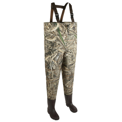 Allen Waders - Ridgeway 2-Ply Bootfoot, Realtree Max-5 - FlyRods.com. An online Fly Fishing Store with Style.