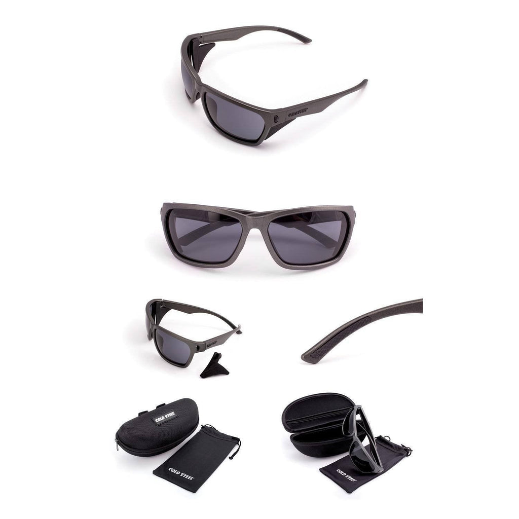 Cold Steel Battle Shades Mark III - Gray Frame Gray Lens