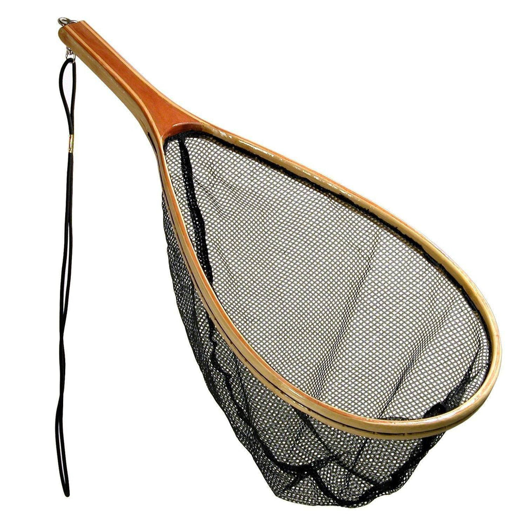 Danielson 13.5in x 8.5in Catch and Release Bamboo Net - FlyRods.com. An online Fly Fishing Store with Style.