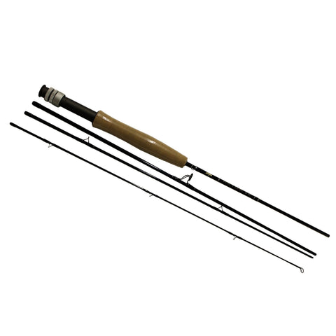 Fishing - AETOS Fly Rod - 6' Length, 4 Piece Rod, 3wt Line Rating, Fly Power, Fast Action
