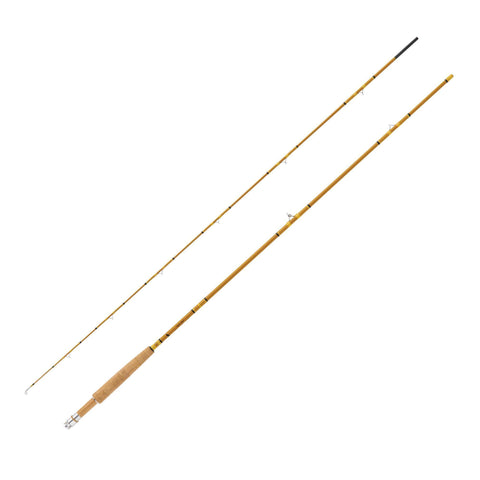 "Crafted Glass Fly Rod - 7'6"" Length, 2 Piece, Honey Gold Glass, Medium - FlyRods.com. An online Fly Fishing Store with Style."