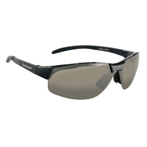 Fly Fish Maverick Sunglasses Matte Black-Smoke