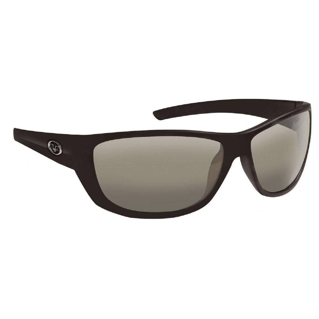 Flying Fisherman Bahia Matte Black Frame Smoke Lens Sunglass