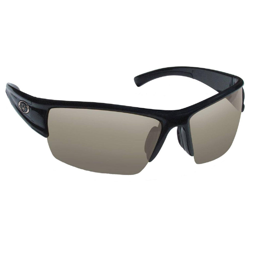 Flying Fisherman Edge Matte Blck Frame Smoke Lens Sunglasses