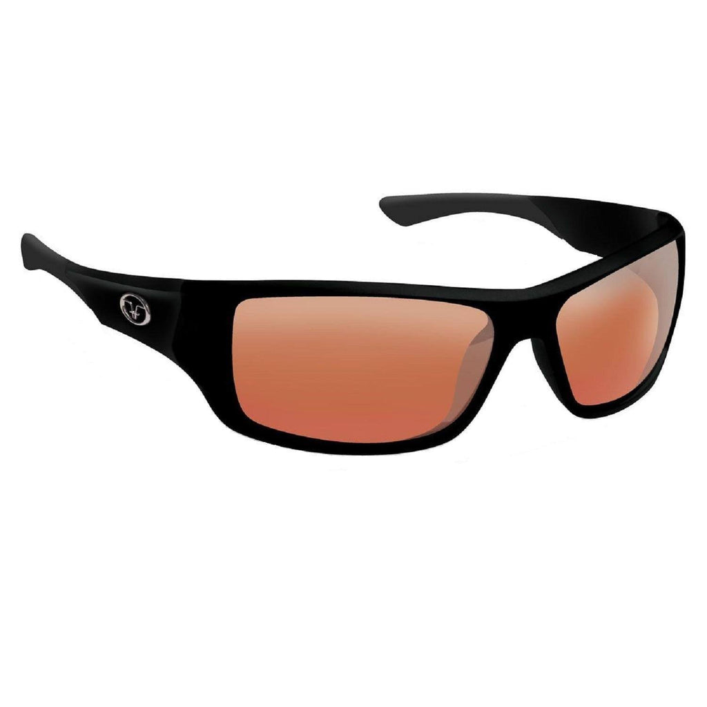 Flying Fisherman Triton Matte Blk Frame Vermillion Sunglass