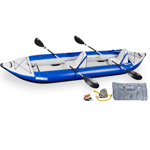 General - Sea Eagle Explorer Inflatable Kayak 420XK Deluxe