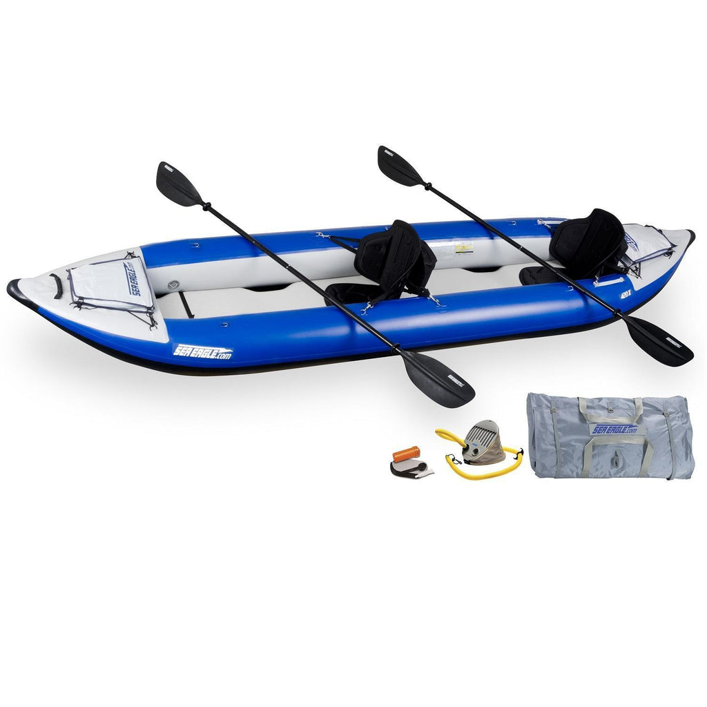 General - Sea Eagle Explorer Inflatable Kayak 420XK Pro