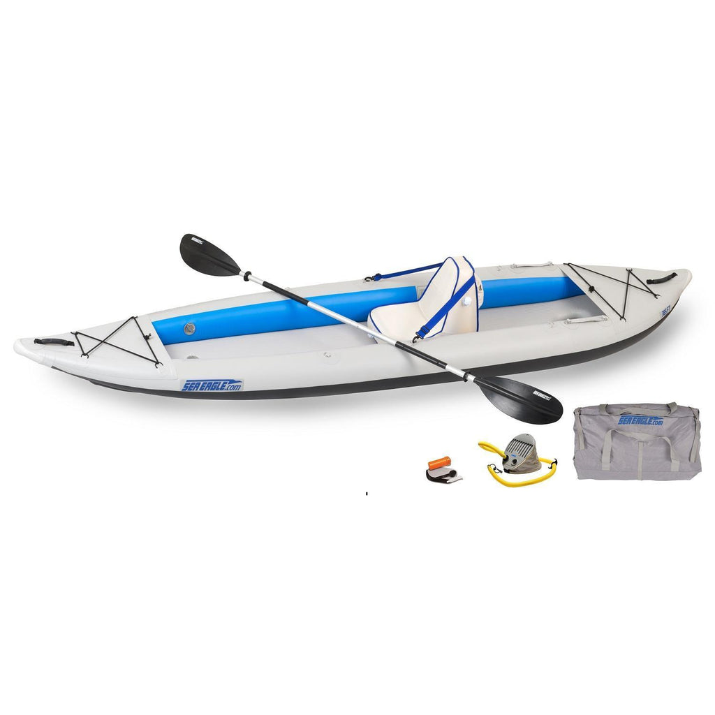 General - Sea Eagle FastTrack 385FTK Inflatable Kayak - Deluxe Solo