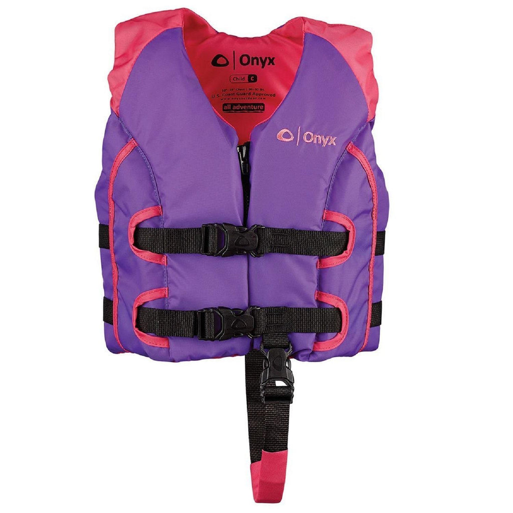 Marine/water Sports - Onyx All Adventure Child Vest - Pink-Purple