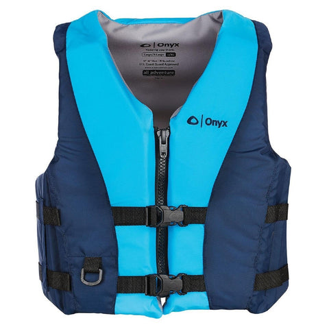 Marine/water Sports - Onyx All Adventure Pepin Vest - Aqua Blue S-M