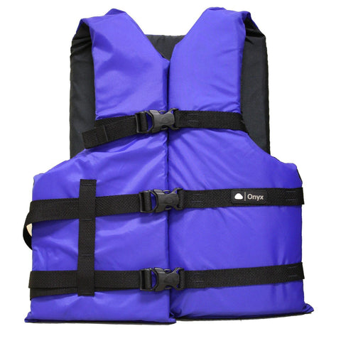 Marine/water Sports - Onyx Universal Adult Boating Vest Blue