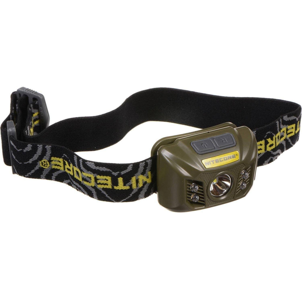 Nitecore 400 Lumen NU30 Headlamp Military Green