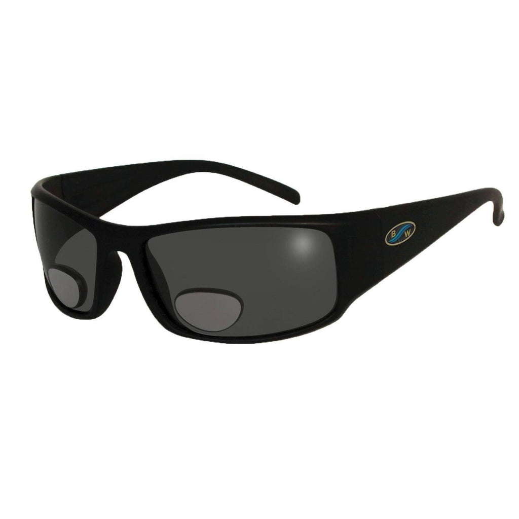 Sunglasses - BlueWater Black Polarized Grey Lens Bifocals 2.0 Sunglasses
