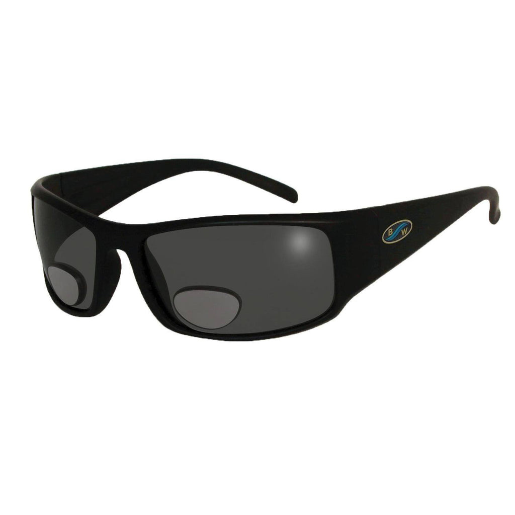 Sunglasses - BlueWater Black Polarized Grey Lens Bifocals 3.0 Sunglasses