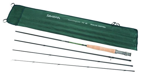 Daiwa Algonquin Fly Rod 4 Pieces Line Wt 4 - 5 AGQF9054 - FlyRods.com. An online Fly Fishing Store with Style.