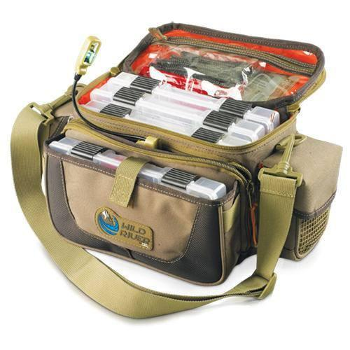 Wild River Tackle Tek Mission Lighted Tackle Bag 4 Trays