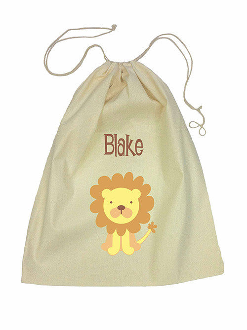 Drawstring Bag - Lion