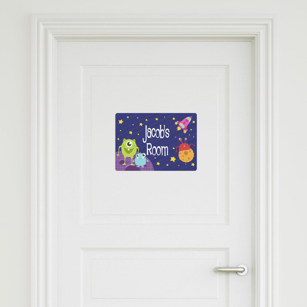 Aliens Medium Door Sign