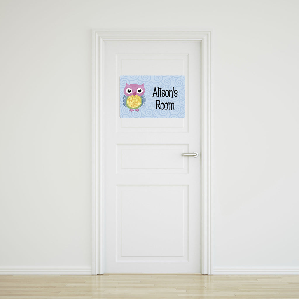 Owl Large Door Sign
