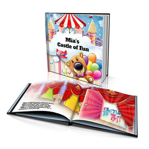 Large Hard Cover Story Book - Castle of Fun