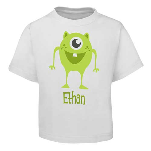 Green Alien Kids T-Shirt