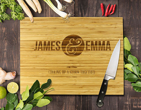 Cooking Up A Storm Bamboo Cutting Boards 8x11""