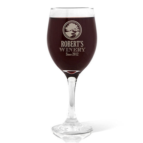 Winery Design Wine 410ml Glass