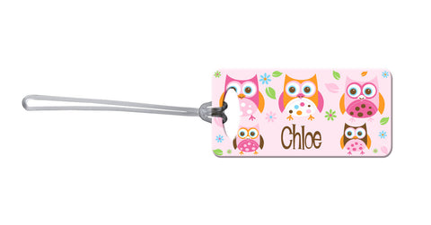 Owl Bag Tag