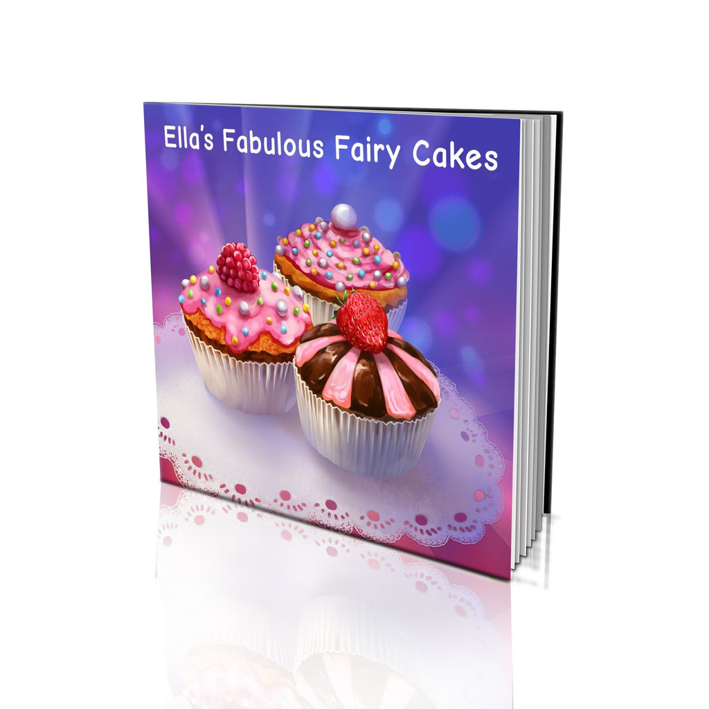 Large Soft Cover Story Book - Fabulous Fairy Cakes