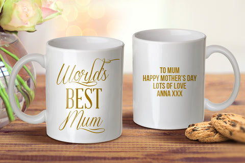 World's Best Mum Mug