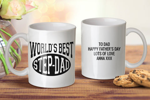 World's Best Step Dad Ever Mug