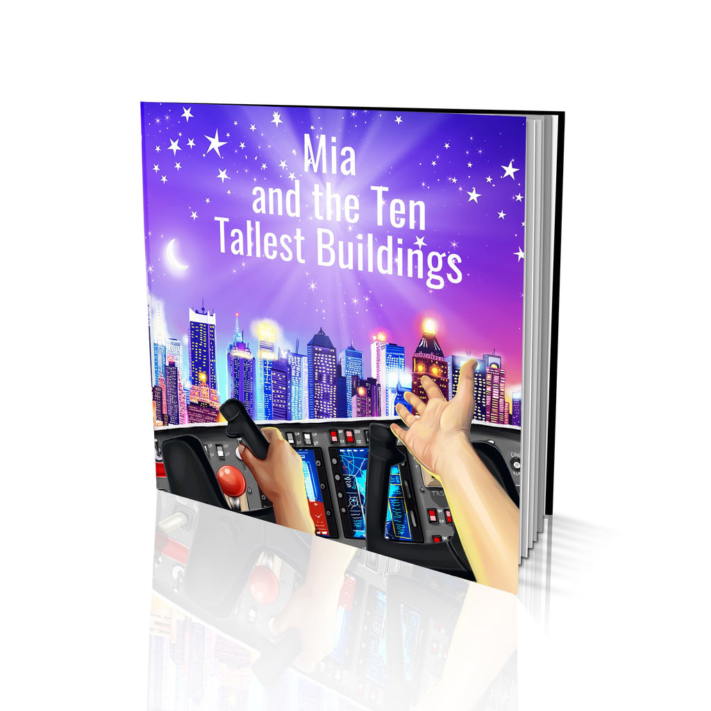 Soft Cover Story Book - Ten Tallest Buildings