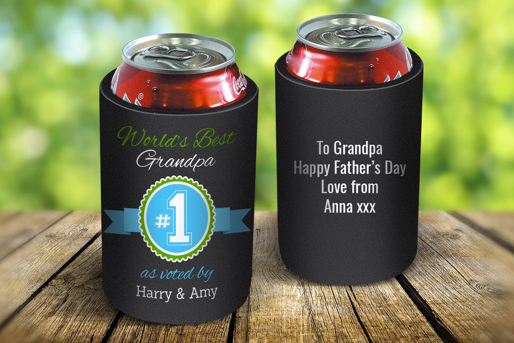 World's Best Grandpa Drink Cooler