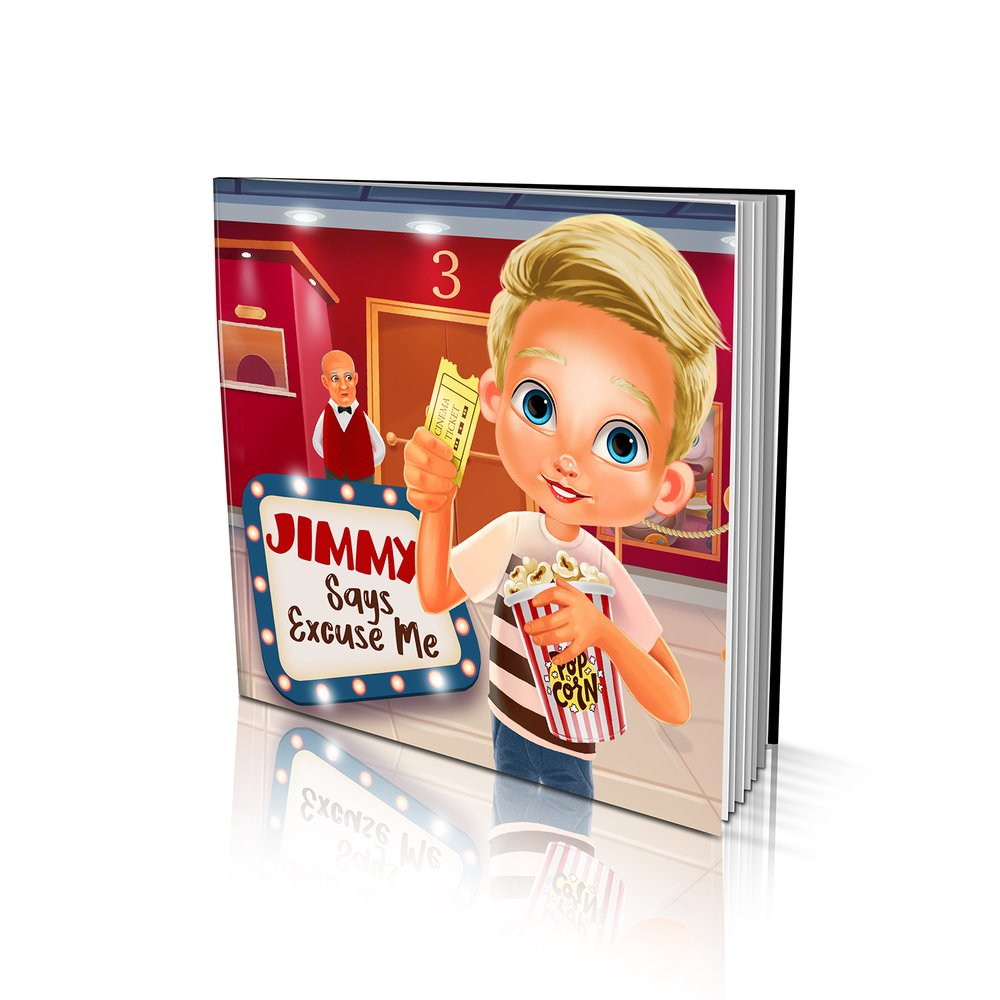 Soft Cover Story Book - Says Excuse Me