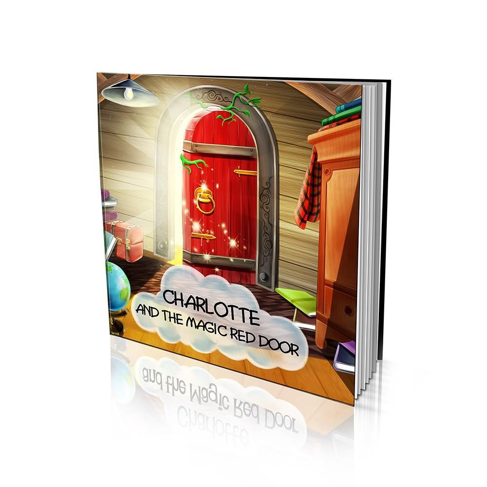 Large Soft Cover Story Book - The Magic Red Door