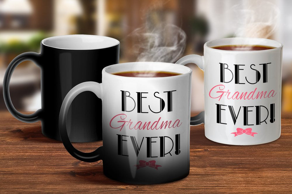Best Grandma Ever Magic Mug