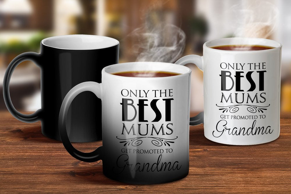 Promoted to Grandma Magic Mug