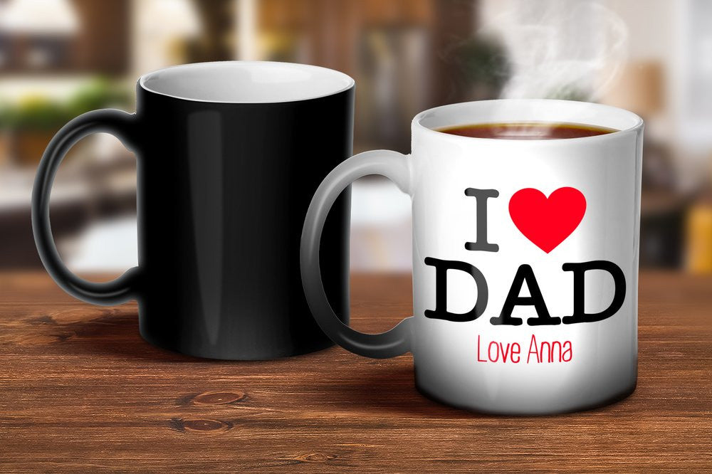 I Love Dad Magic Mug