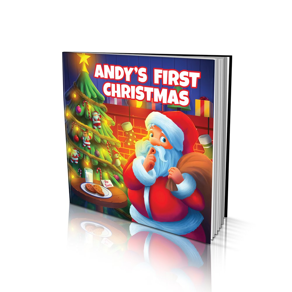 Large Soft Cover Story Book - First Christmas
