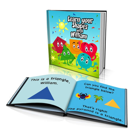 Hard Cover Story Book - Learn Your Shapes