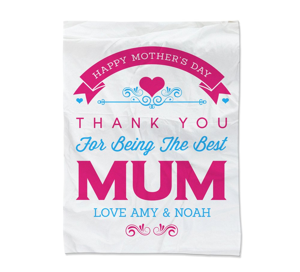 Best Mum Blanket - Large